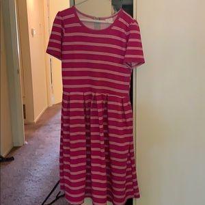 Lularoe Amelia Dress Size XL Gently Used